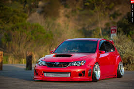 subaru wrx hatchback modified 2009 subaru sti hatchback red cars modified wallpaper 2048x1360