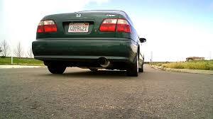 1998 honda civic performance upgrades magnaflow catback exhaust on 1999 honda civic sedan dx d16y7