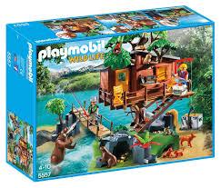 amazon com playmobil adventure tree house toys u0026 games
