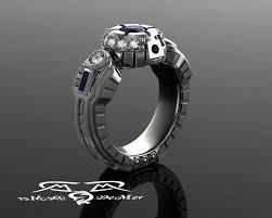 wars wedding bands 21 alternative wedding rings misfit wedding