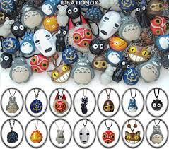 ghibli film express ghibli necklace collection by ideationox deviantart com on
