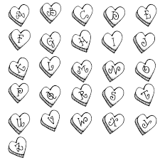 sweet hearts alphabet free stock photo public domain pictures