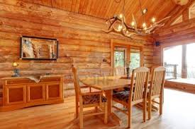 log cabin interior design and ideas