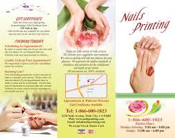 brochures nails printing u2013 866 600 1823