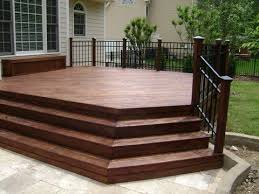 Backyard Deck Pictures by Best 25 Aluminum Railings Ideas On Pinterest Patio Railing