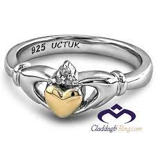 rings ladies silver images Ladies silver claddagh ring uls 6169 jpg