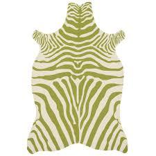 Genuine Zebra Rug 100 Yellow Zebra Rug Yellow Crib Eclectic Nursery Ab Chao