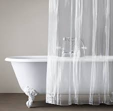 Gray Shower Curtain Liner Curtain Liner