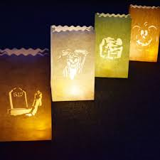 Diy Halloween Lighting by To Make Halloween Haunted Luminary Bags Diy