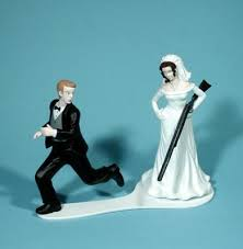 and groom wedding cake toppers absurd cake toppers thefeministbride