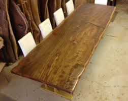 Slab Dining Table by Live Edge Dining Table Redwood Dining Table Wood Slab
