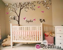 Large Nursery Wall Decals Baby Nursery Wall Decals Tree Wall Decal Tree Decal Owl And