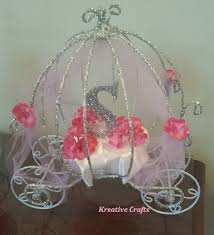 carriage centerpiece cinderella baby shower baby shower ideas