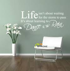 popular dance wall decals buy cheap dance wall decals lots from art wall decals quotes dance in the rain removable wall stickers for home decor china