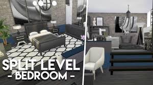 split level bedroom split level bedroom the sims 4 room build