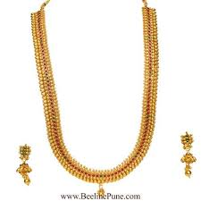 necklace designs with stones images Traditional long necklace mango design temple kempu stones hayagi jpg