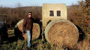 How To Make A Hay Bail Blind Field Recon Redneck Stack Blind Youtube