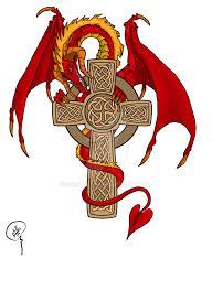 dragon cross tatoo by geek in it on deviantart