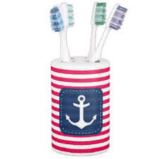 Navy Blue Bathroom Accessories by Red White And Blue Bath Accessory Sets Zazzle