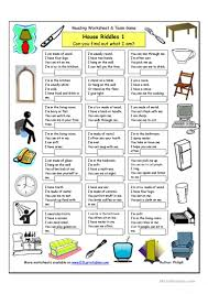 Printable Halloween Riddles by 71 Free Esl Riddles Worksheets