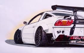 sports cars drawings finished version