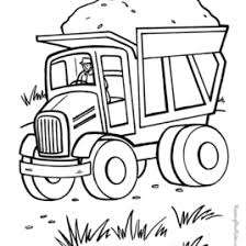 coloring dump truck archives mente beta complete