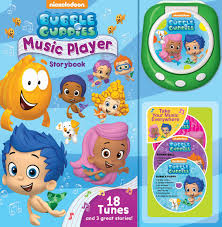bubble guppies music player storybook book by nick jr