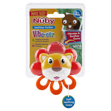 Soothing Vibe Nuby Vibrating Teether Meijer Com