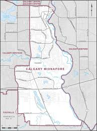 Map Of Canada Showing Calgary by Calgary Midnapore Maps Corner Elections Canada Online