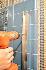 how to remove an old sliding shower door young house love