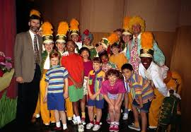 Barney And The Backyard Gang Cast Image Backstage With Cast At Barney Live In Nyc Jpeg Barney