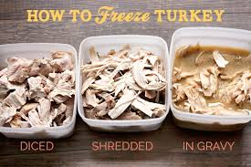 freezing thanksgiving turkey leftovers savvy eats