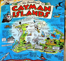 Map Of Cayman Islands Dina U0027s Travels Cayman Islands Stop