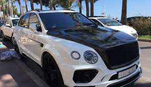 mansory bentley first mansory bentley bentayga spotted in cannes seecannes com