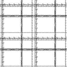 16x16 Small Square Scarf Feminist Fashion Black And White