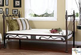 vintage twin bed frame because antique white twin bed frame