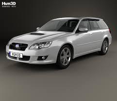 subaru station wagon 2000 subaru 3d models hum3d