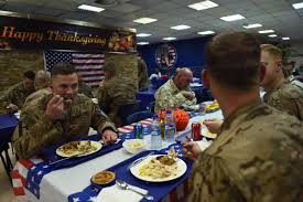 thanksgiving 2014 us troops overseas celebrate with turkey