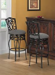 black wrought iron bar stools with transitional swivel chase 30