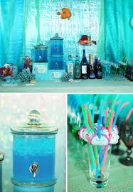 the sea party ideas princess mermaid the sea birthday party hostess with the