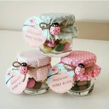 recuerdos de bautizado con frascos de gerber bebek şekeri baby shower it s a girl crafts pinterest frascos