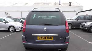 2 seater peugeot cars peugeot 807 2 0 hdi 120 executive 7 seat 5dr u10041 youtube
