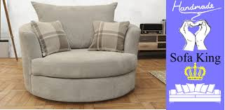 swivel cuddle chair ashby cuddle swivel chair silver fabric