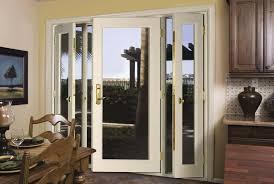 Single Patio Door Single Patio Door With Sidelights An Overview Of Frameless