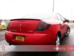 rtint pontiac g6 sedan 2006 2009 tail light tint film