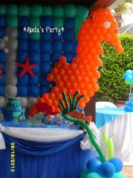 abda u0027s party decorations under the sea party festa debaixo do mar