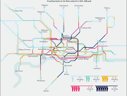 Tube Map London How Crowded Will The Tube Be In 2031 This Map Shows How Bad It