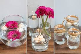 Candle Centerpieces How To Make Floating Candle Centerpieces For A Wedding Ehow