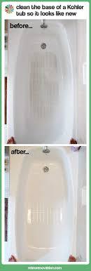 best 25 clean bathtub ideas on bathtub cleaning tips