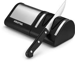electric kitchen knives gourmia ges9715 electric diamond knife sharpener stainless steel